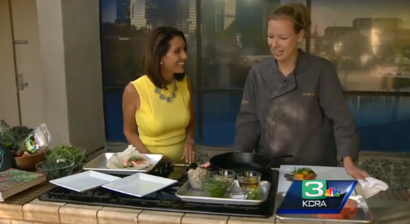 Chef Laura Kenney shares to Father's Day recipes that feature California King Salmon